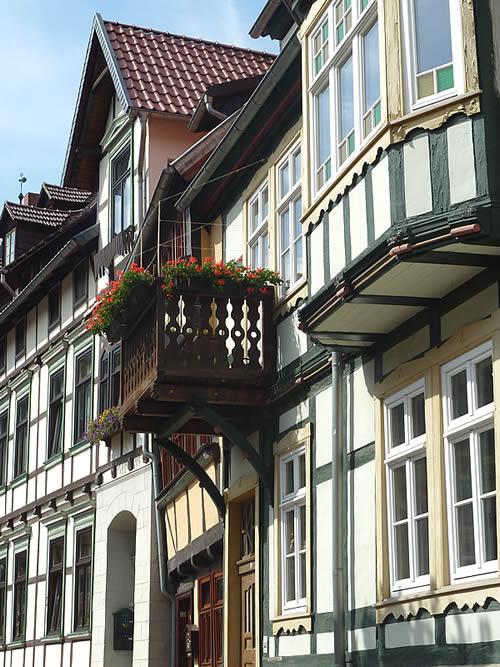 Schone Mittelalterliche Fachwerkhauser In Stolberg Harz Unesco